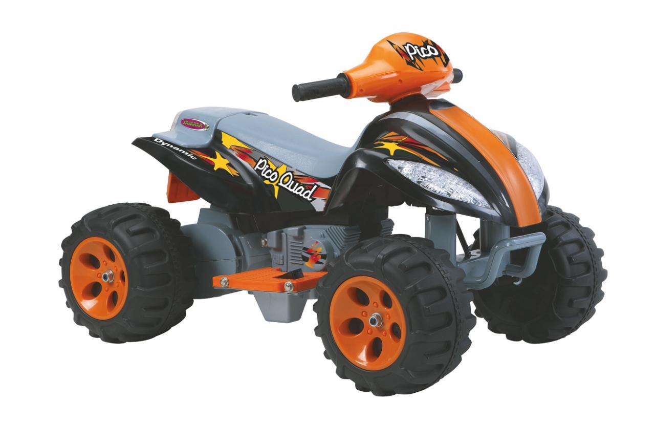 JAMARA Quad Pico - Batteriebetrieben - Vierrad - 2 Jahr(e) - 4 Rad/Räder - Schwarz - Orange - 4 Jahr(e)