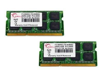 G.Skill SQ Series - DDR3 - kit - 8 GB: 2 x 4 GB