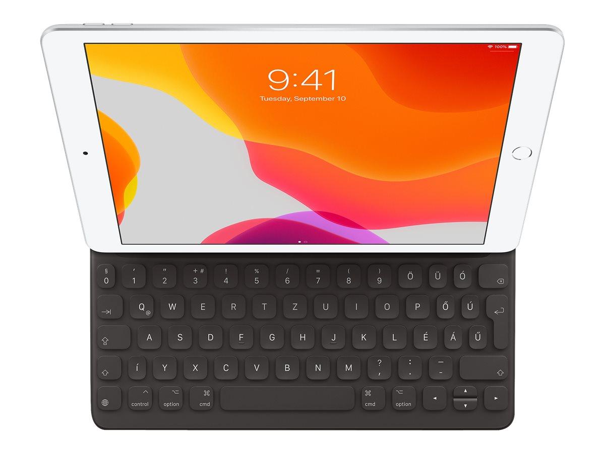 Vorschau: Apple Smart - Tastatur und Foliohülle - Apple Smart connector - QWERTZ - Deutsch - für 10.2-inch iPad; 10.5-inch iPad Air (3. Generation)