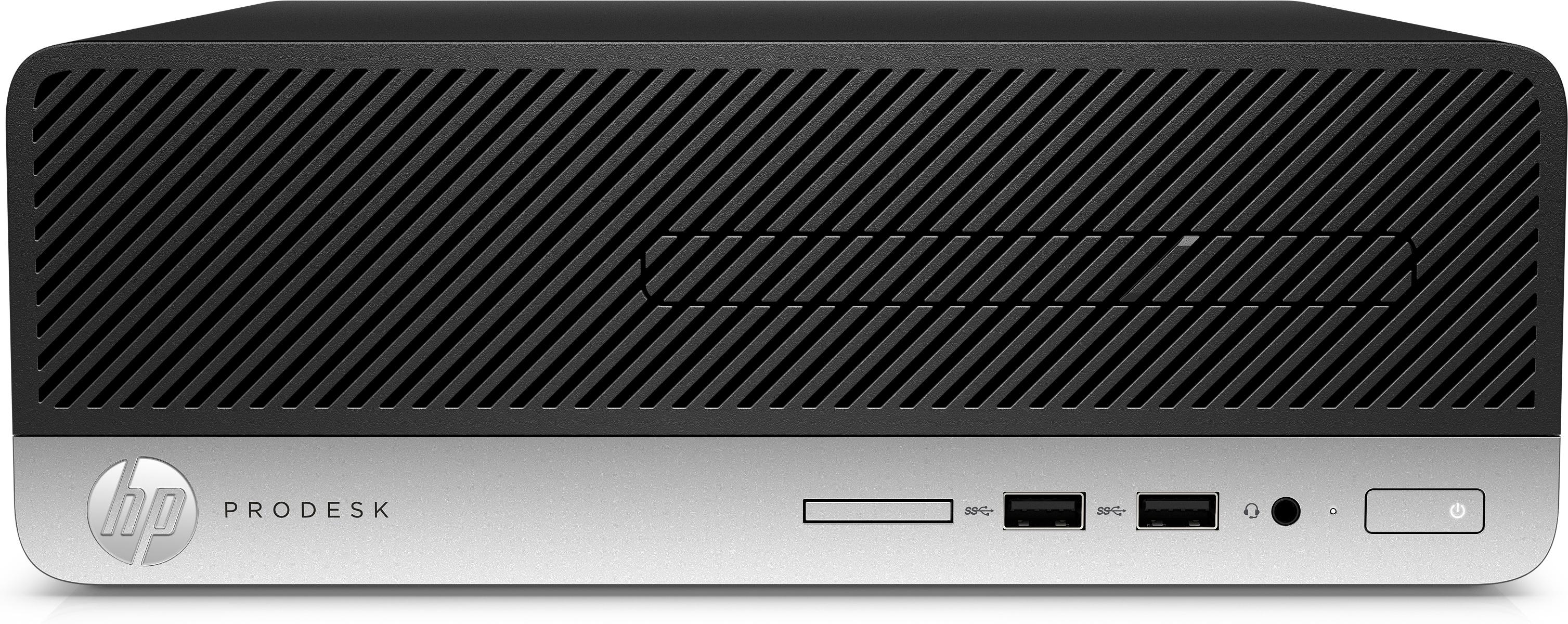 HP ProDesk 400 G6 - Komplettsystem - Core i3 3,6 GHz - RAM: 8 GB DDR4 - HDD: 256 GB NVMe - UHD Graphics 600