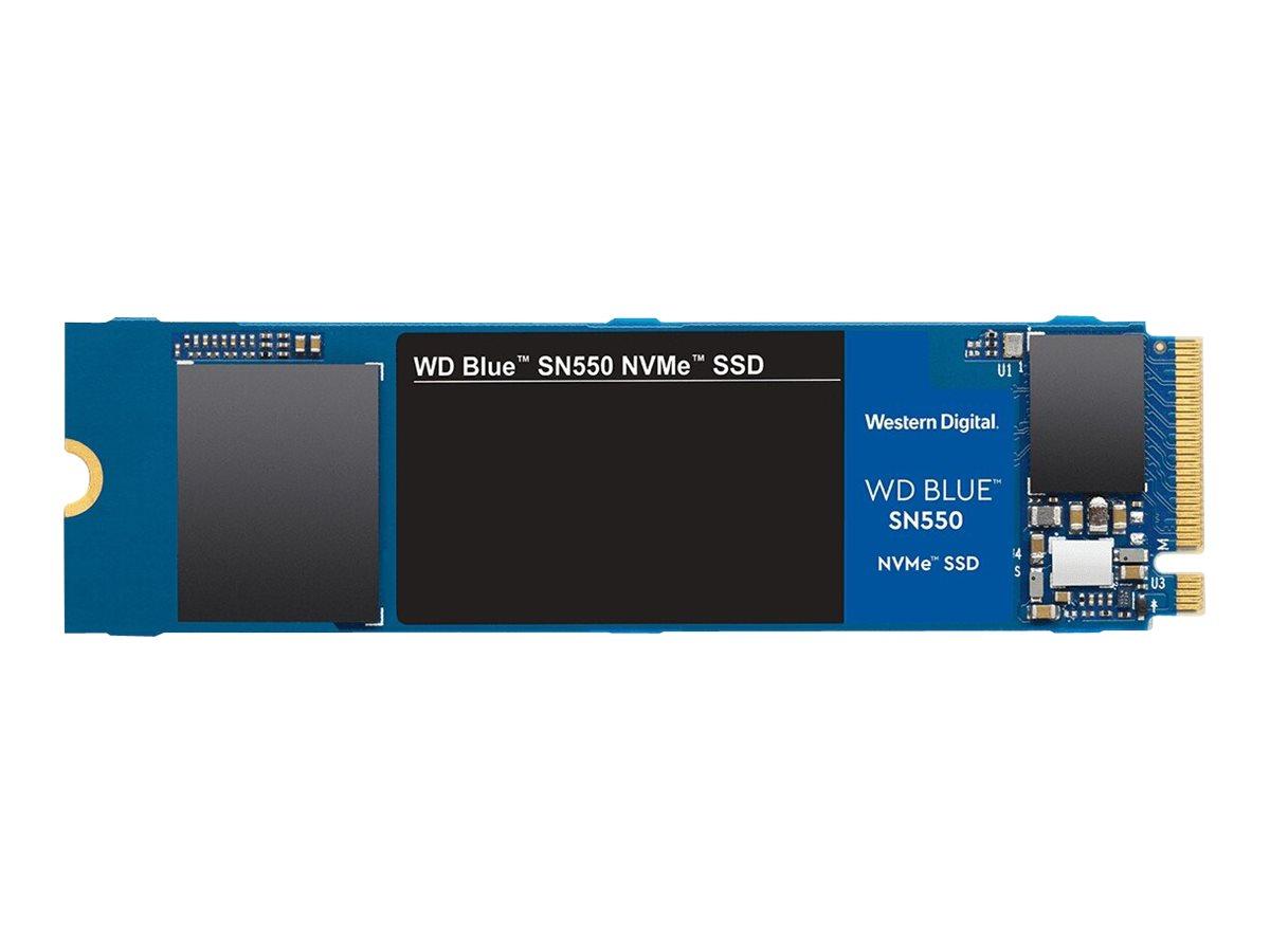 WD Blue SN550 NVMe SSD WDS250G2B0C - 250 GB SSD - intern - M.2 2280 - PCI Express 3.0 x4 (NVMe)