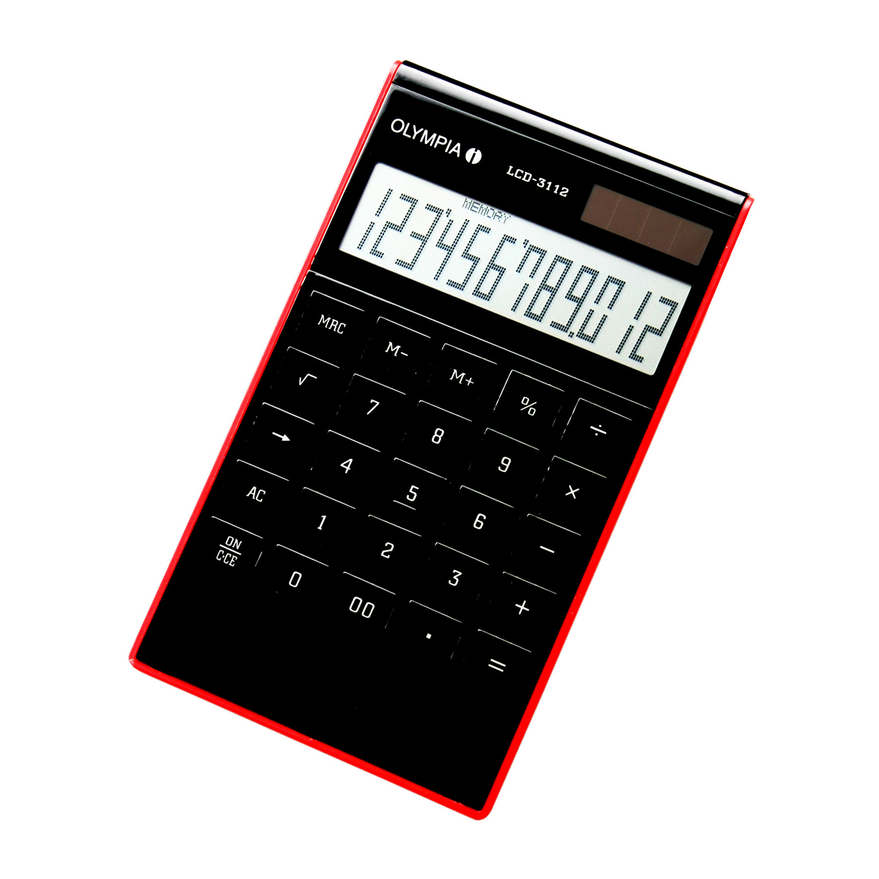 Olympia LCD 3112 - Desktop - Einfacher Taschenrechner - 12 Ziffern - 1 Zeilen - Schwarz