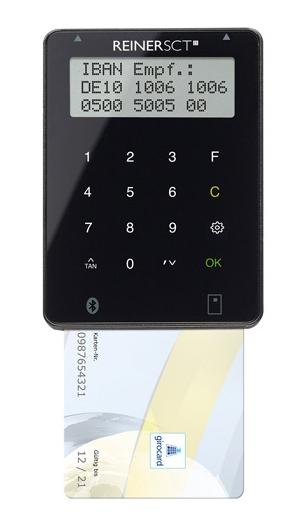 ReinerSCT Reiner SCT tanJack Bluetooth - Innen/Außen - Schwarz - Deutschland - LCD - Mac OS X 10.8 Mountain Lion - CE - WEEE - BattG