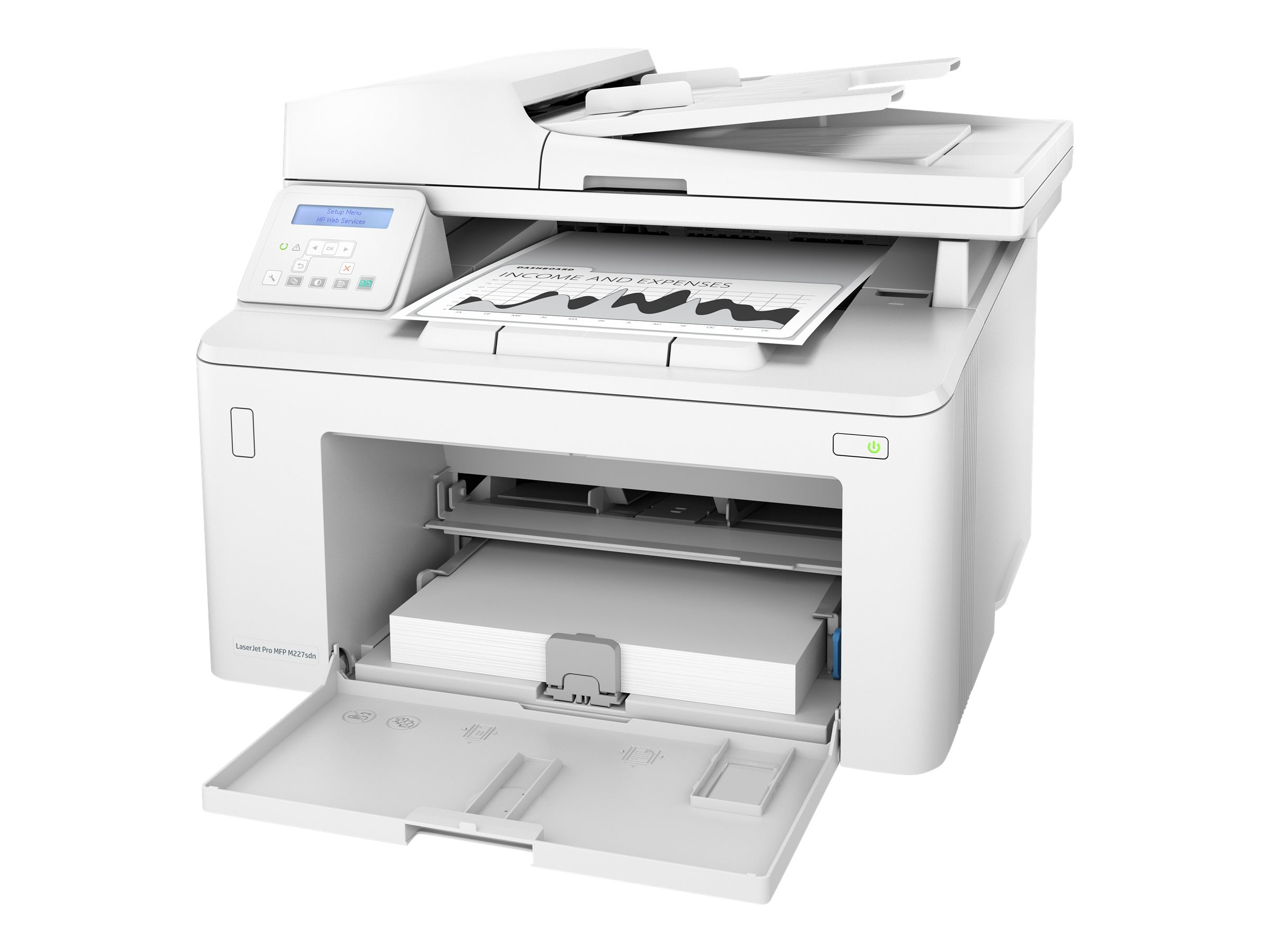 HP LaserJet Pro MFP M227sdn - Multifunktionsdrucker - s/w - Laser - Legal (216 x 356 mm)