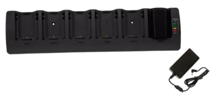 Zebra 6 Slot Spare Battery Charger - Batterieladegerät