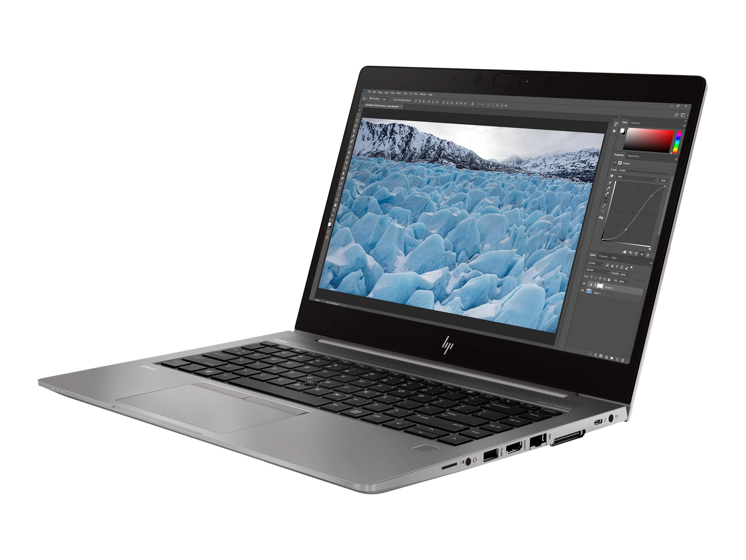 "HP ZBook 14u G6 Mobile Workstation - Core i7 8565U / 1.8 GHz - Win 10 Pro 64-Bit - 16 GB RAM - 512 GB SSD NVMe, TLC - 35.56 cm (14"")"