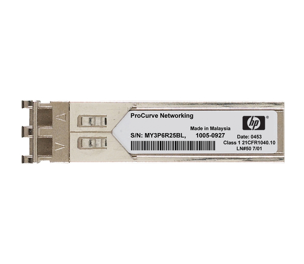 HP X110 100M SFP LC BX 10-U Transceiver (JD100A) - New Retail