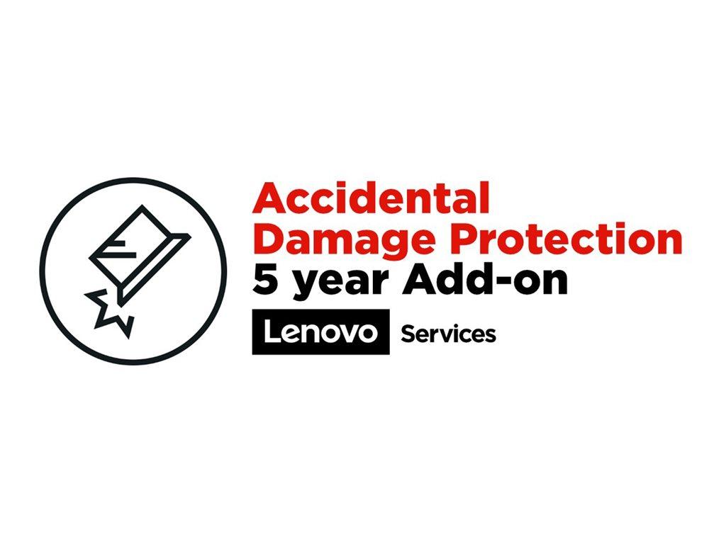 Lenovo Accidental Damage Protection - Abdeckung bei Schaden durch Unfall - 5 Jahre - für ThinkPad P1  P1 (2nd Gen)