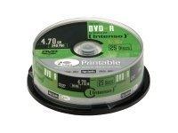 Intenso 25 x DVD-R (G) - 4.7 GB 16x - mit Tintenstrahldrucker bedruckbare Oberfläche