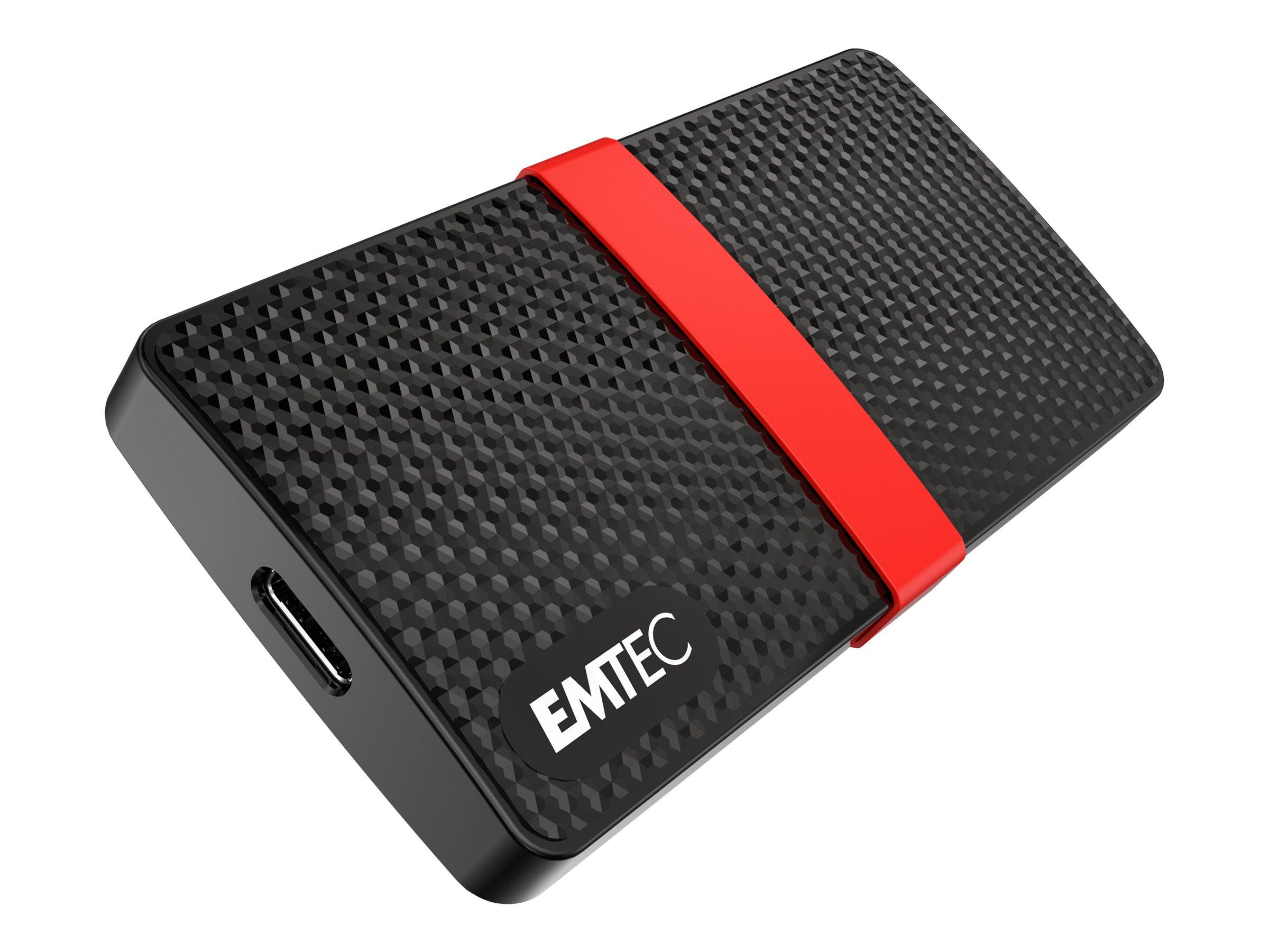 EMTEC SSD Power Plus X200 - 1 TB SSD - extern (tragbar)