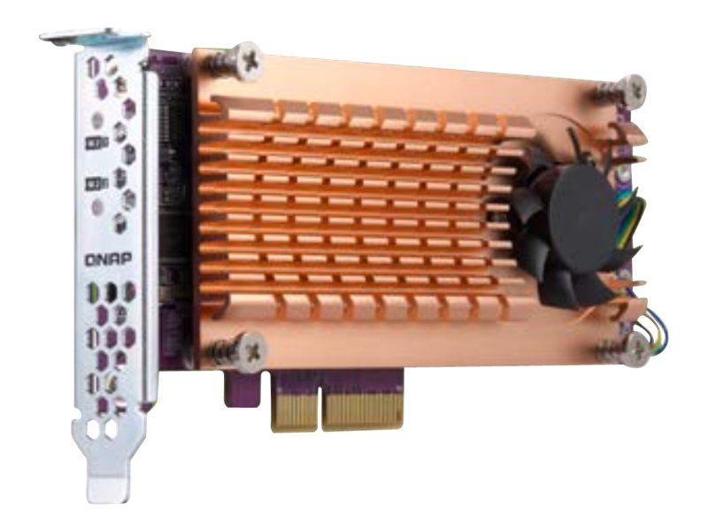 QNAP QM2-2P-384 - Speicher-Controller - PCIe 3.0 Low-Profile