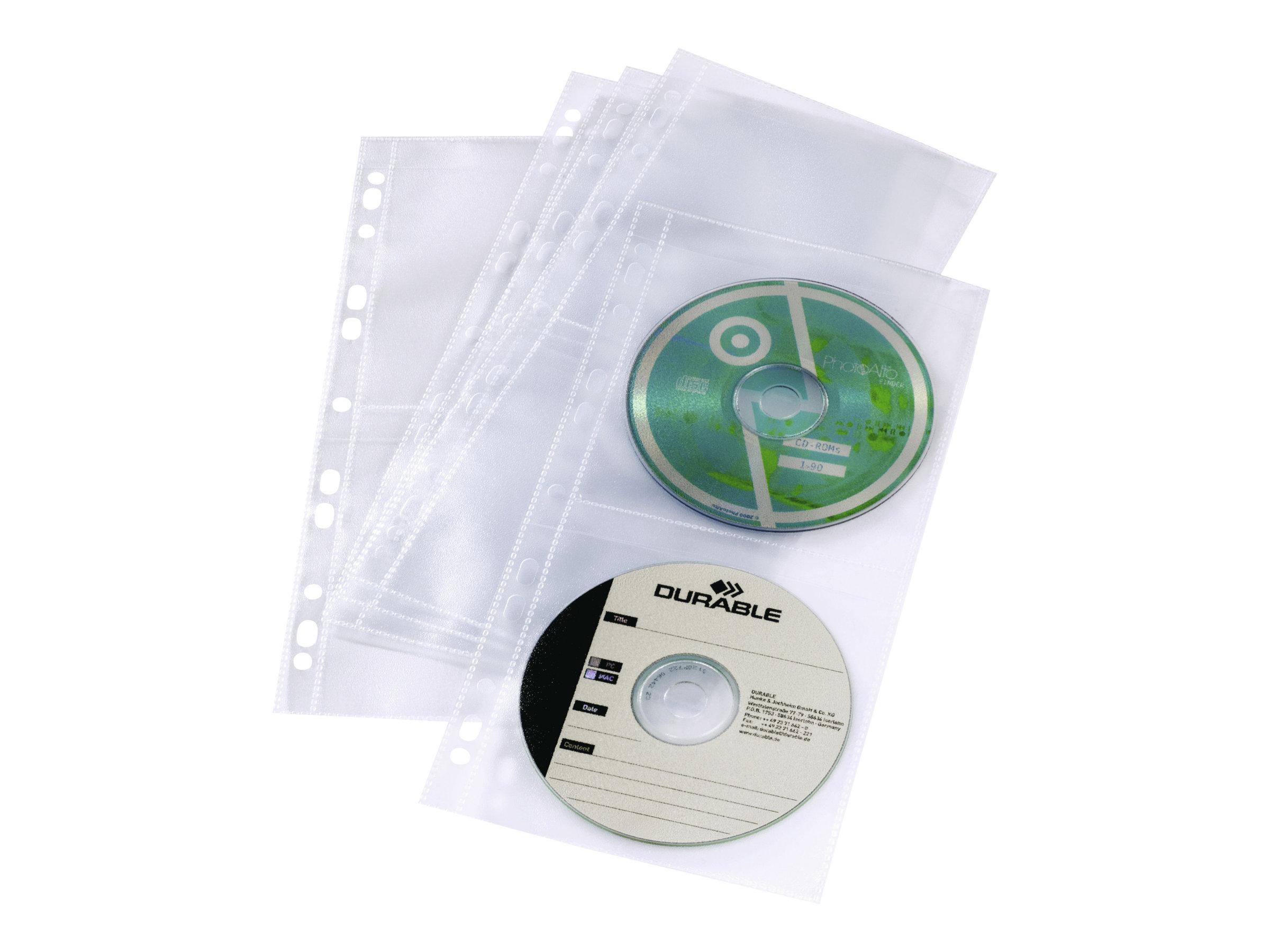 Durable CD/ DVD Cover Pocket Light S - CD/DVD-Hülle