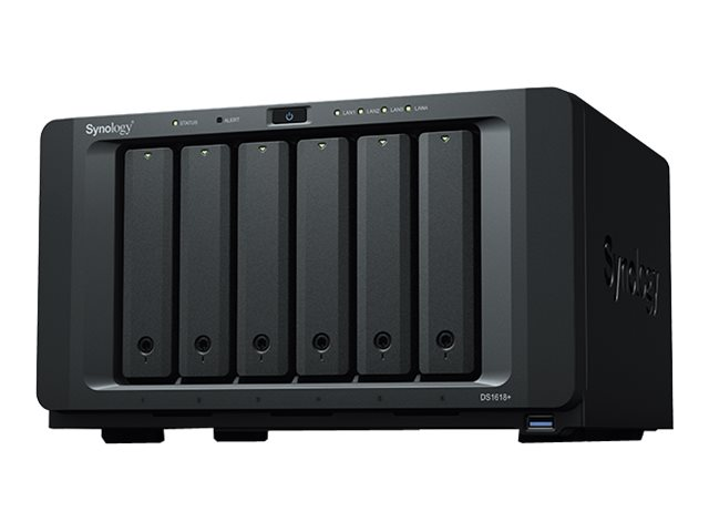Synology Disk Station DS1618+ - NAS-Server - 6 Schächte