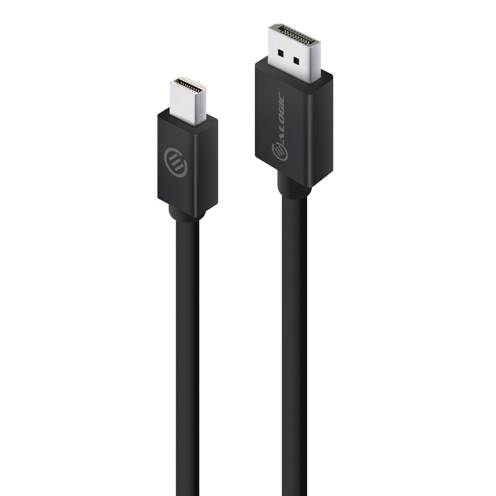Alogic ELMDPDP-02 - 2 m - Mini DisplayPort - DisplayPort - Männlich - Männlich - 3840 x 2160 Pixel