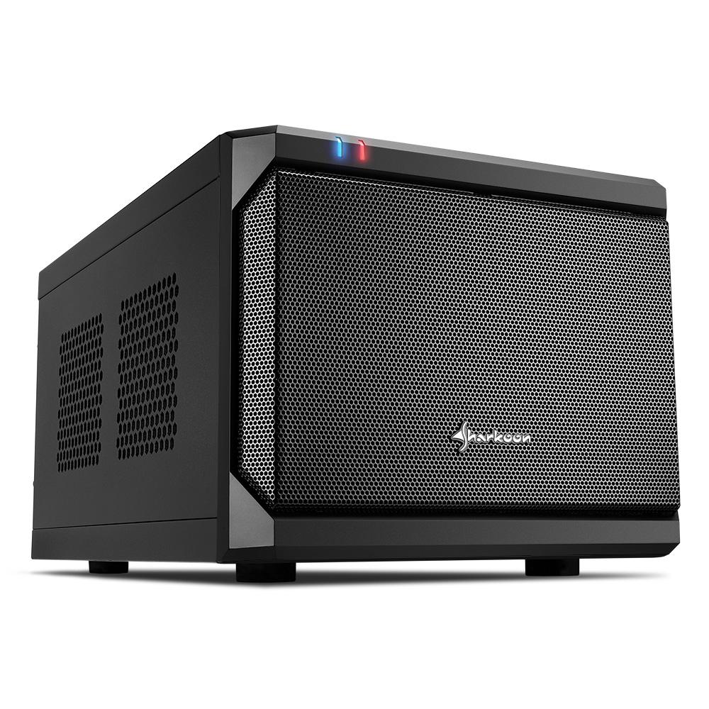 Sharkoon QB One - PC - Schwarz - Mini-ITX - 15 cm - 31,5 cm - 14,5 cm