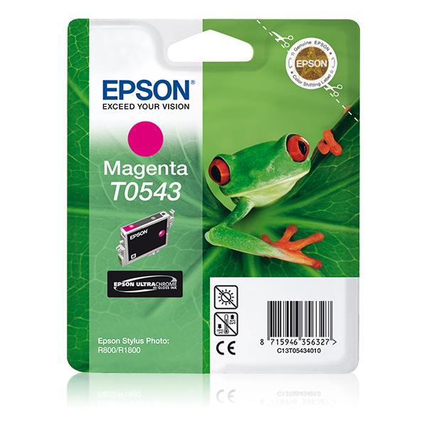Epson-C13T05434020-Frog-Singlepack-Magenta-T0543-Ultra-Chrome-Hi-Gloss