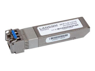Lancom SFP-LX-LC10 - SFP+-Transceiver-Modul - 10 GigE - 10GBase-LX - LC Single-Modus - bis zu 10 km - 1310 nm (Packung mit 10)