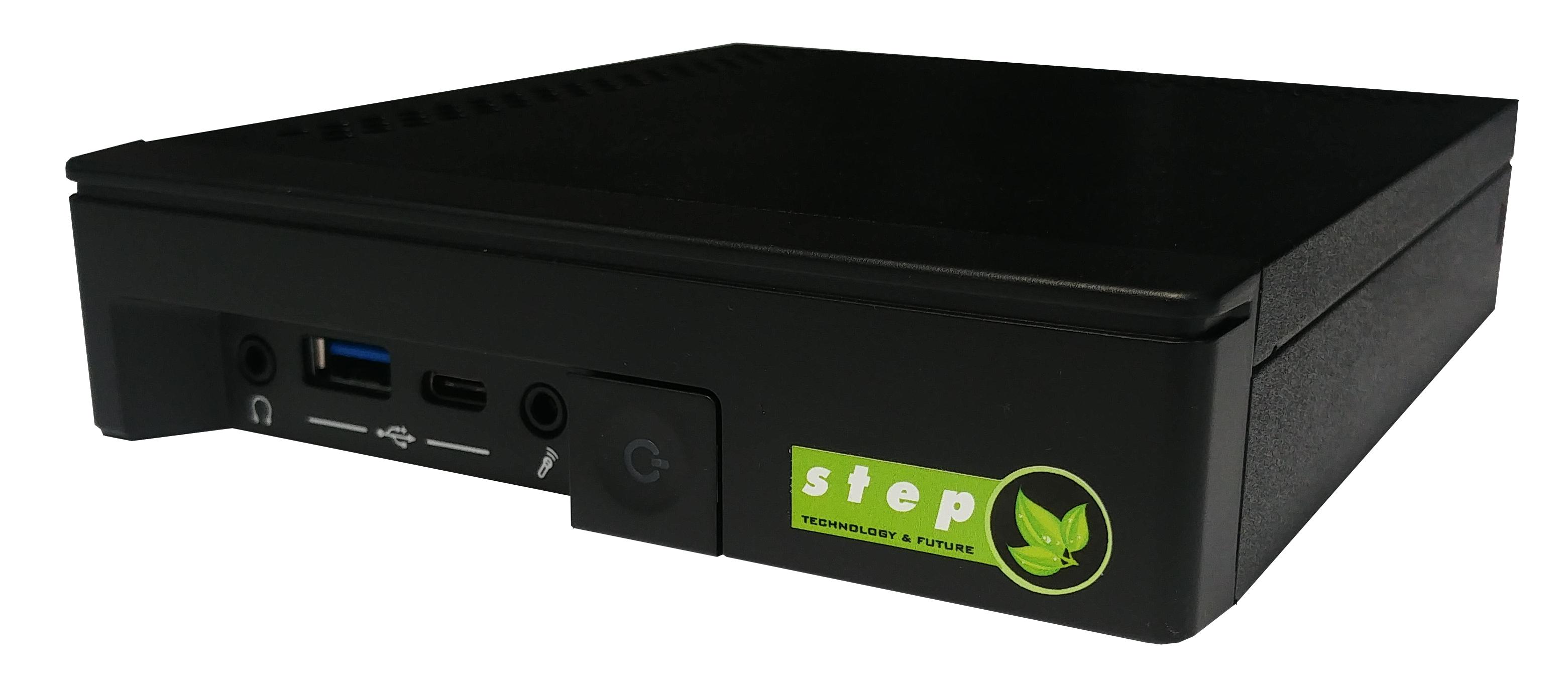 Step DS808 - 3,6 GHz - Intel? Core? i3 der achten Generation - i3-8100 - 4 GB - 240 GB - Windows 10 IoT Enterprise
