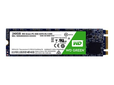 WD Green PC SSD WDS120G2G0B - 120 GB SSD - intern
