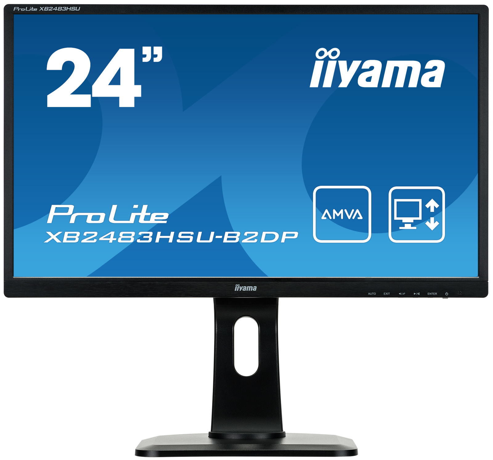 Iiyama ProLite XB2483HSU-B2DP - LED-Monitor - 61cm/24