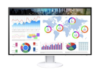 "FlexScan EV3285 LED display 80 cm (31.5"") 4K Ultra HD Flat White"