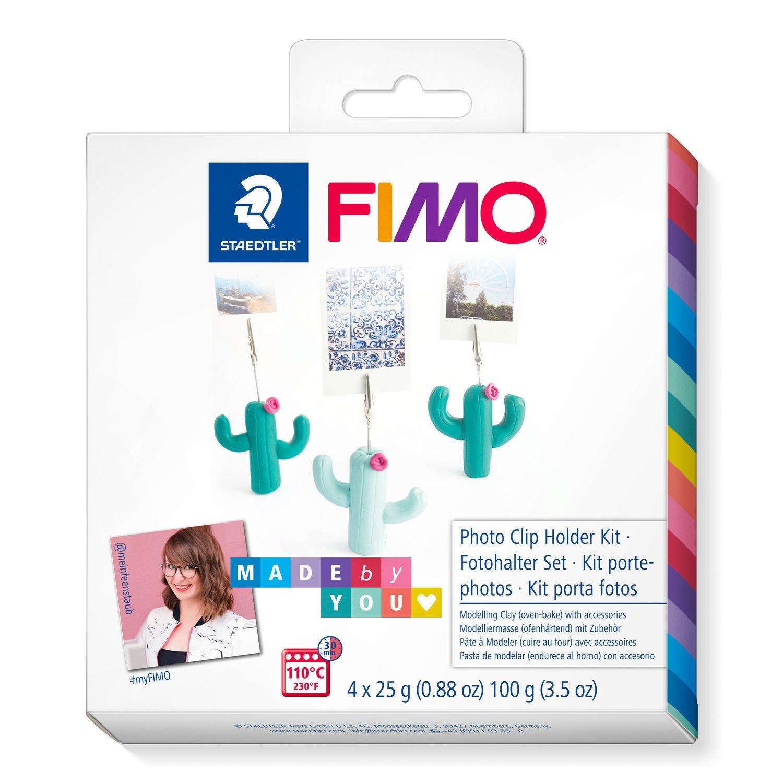 Vorschau: STAEDTLER FIMO 8025 DIY - Knetmasse - Beere - Grün - Mintfarbe - Erwachsene - 4 Stück(e) - 3 Farben - 110 °C