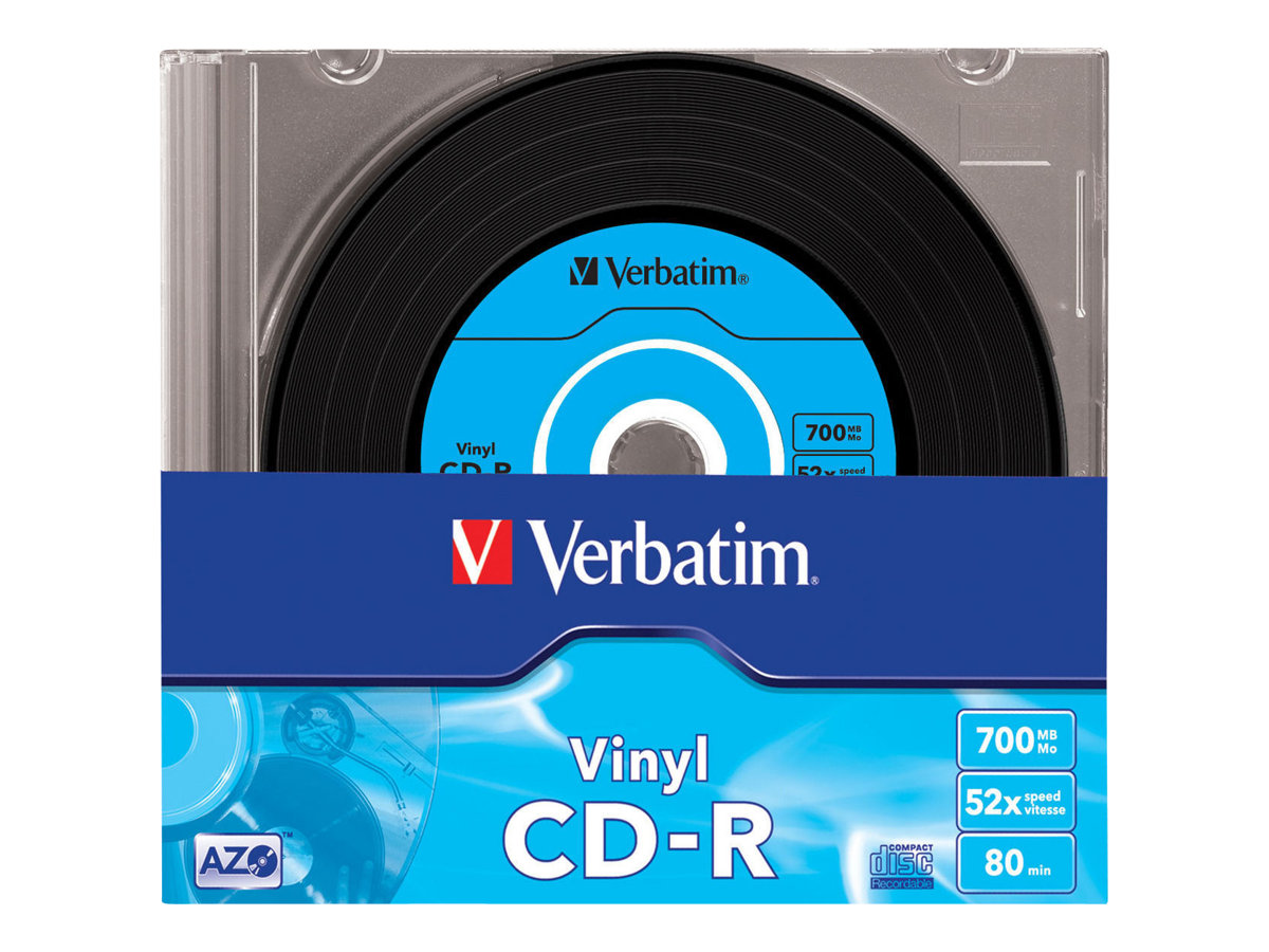 Verbatim Data Vinyl - 10 x CD-R - 700 MB 52x