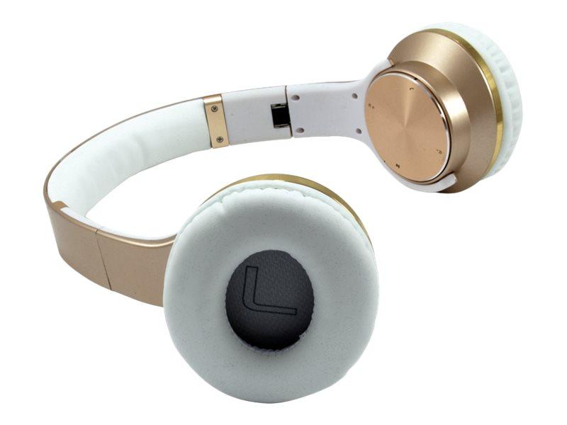 Conceptronic - Kopfhörer mit Mikrofon - Kabellos - Bluetooth 3.0 - NFC