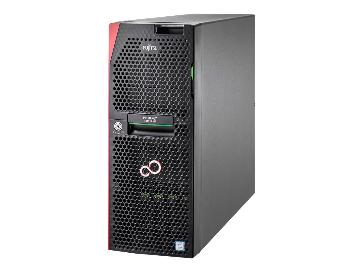 "Fujitsu PRIMERGY TX1330 M4 - Server - Tower - 4U - 1-Weg - 1 x Xeon E-2136 / 3.3 GHz - RAM 16 GB - SATA - Hot-Swap 6.4 cm (2.5"")"