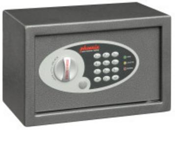 Phoenix Safe Phoenix SS0801E - Schwarz - Grau - Stahl - 310 mm - 200 mm - 200 mm