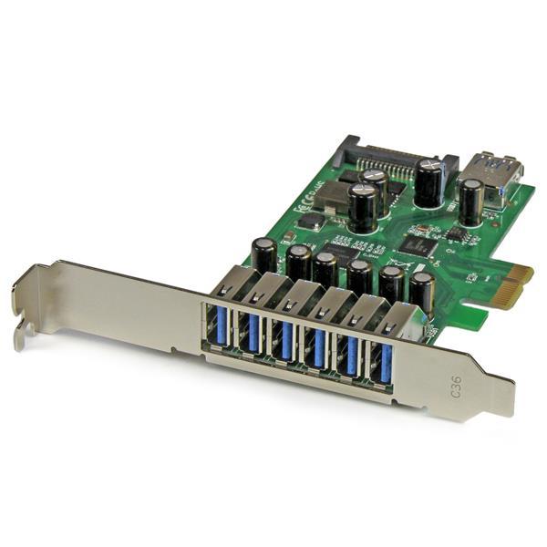 StarTech.com 7 Port PCI Express USB 3.0 Karte