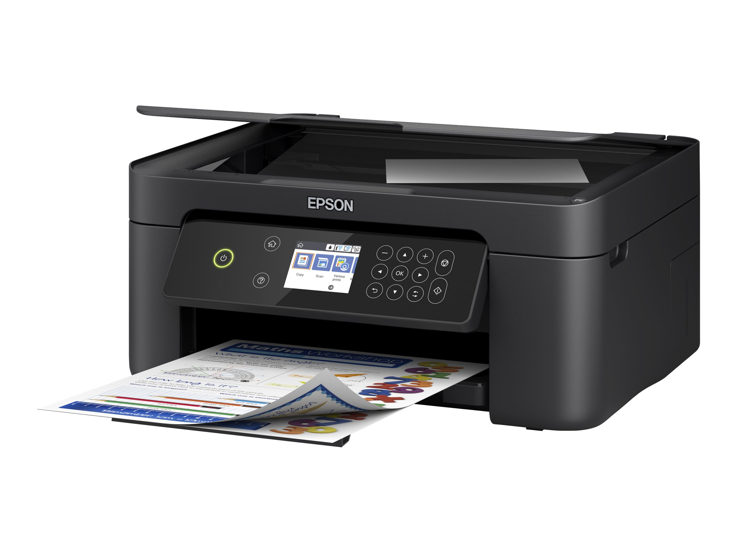 Epson Expression Home XP-4100 - Multifunktionsdrucker - Farbe - Tintenstrahl - A4 (210 x 297 mm)