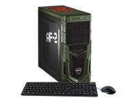Military Gaming 5679 3.2GHz i7-8700 Schwarz - Grün PC