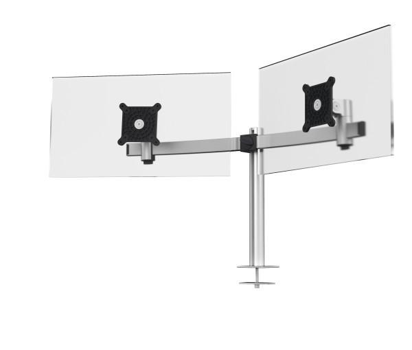 Vorschau: Durable 508623 - Klemme - 8 kg - 53,3 cm (21 Zoll) - 68,6 cm (27 Zoll) - 100 x 100 mm - Silber
