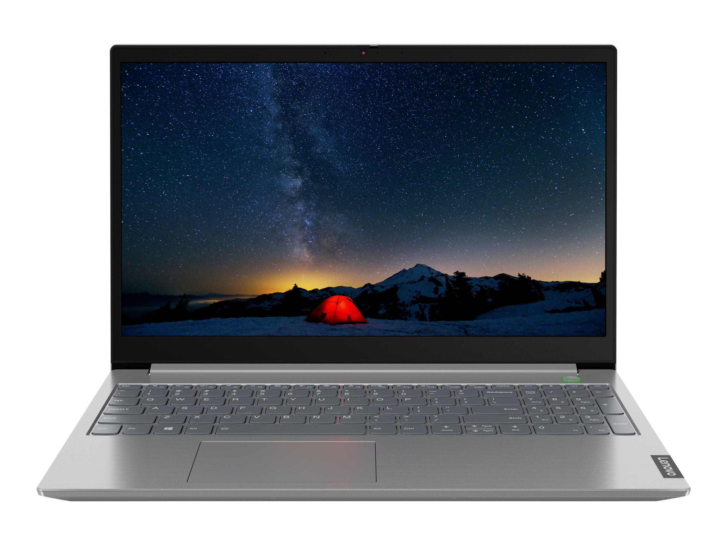 "Vorschau: Lenovo ThinkBook 15-IIL 20SM - Core i5 1035G1 / 1 GHz - Win 10 Pro 64-Bit - 8 GB RAM - 256 GB SSD NVMe - 39.6 cm (15.6"")"