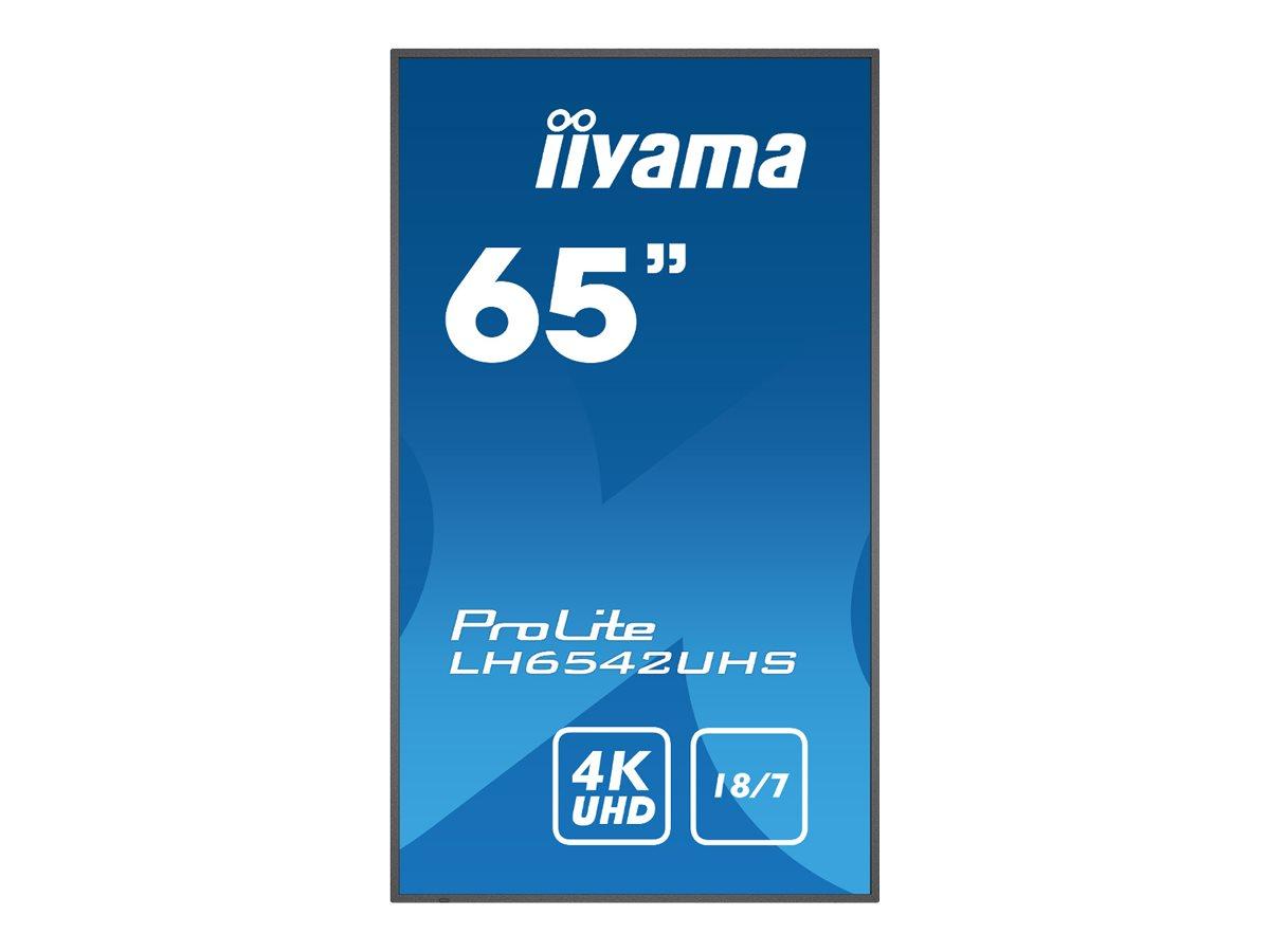 "Iiyama ProLite LH6542UHS-B1 - 165.1 cm (65"") Klasse (163.8 cm (64.5"")"