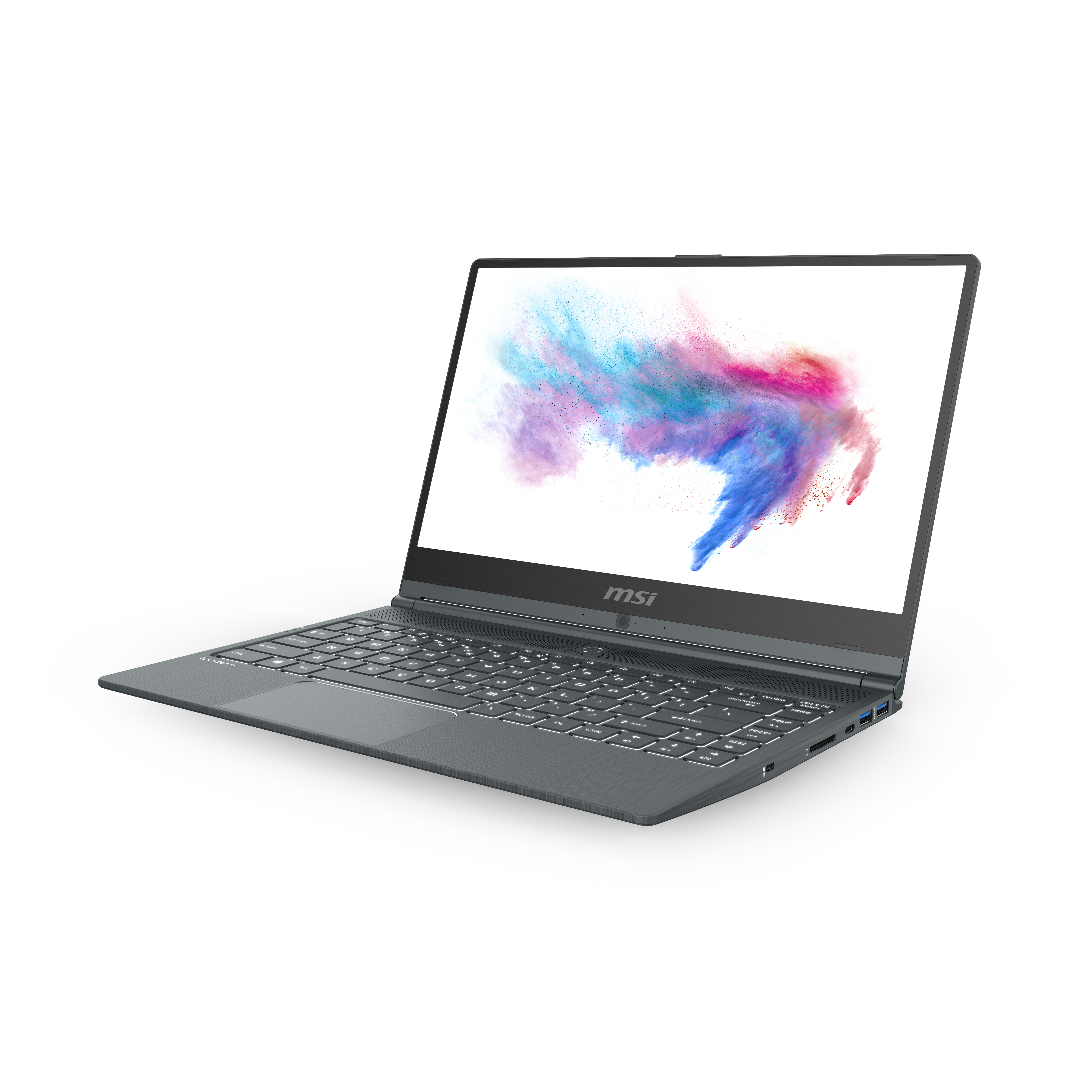 MSI Modern 14 A10M-818 - Intel® Core™ i7 Prozessoren der 10. Generation - 1,8 GHz - 35,6 cm (14 Zoll) - 1920 x 1080 Pixel - 8 GB - 512 GB