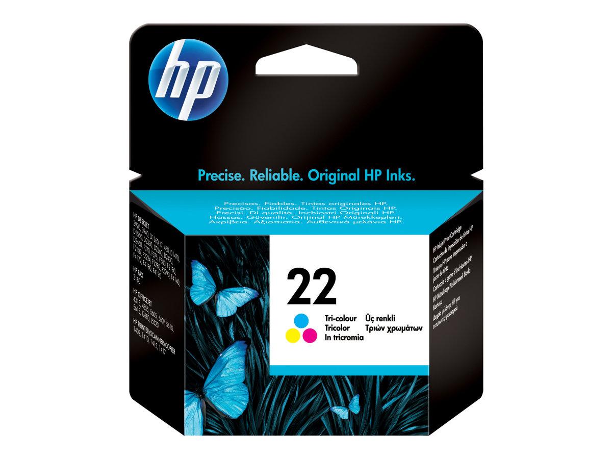 HP 22 - 5 ml - Farbe (Cyan, Magenta, Gelb) - Original