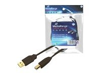 MEDIARANGE Printer Cable - USB-Kabel - USB (M)