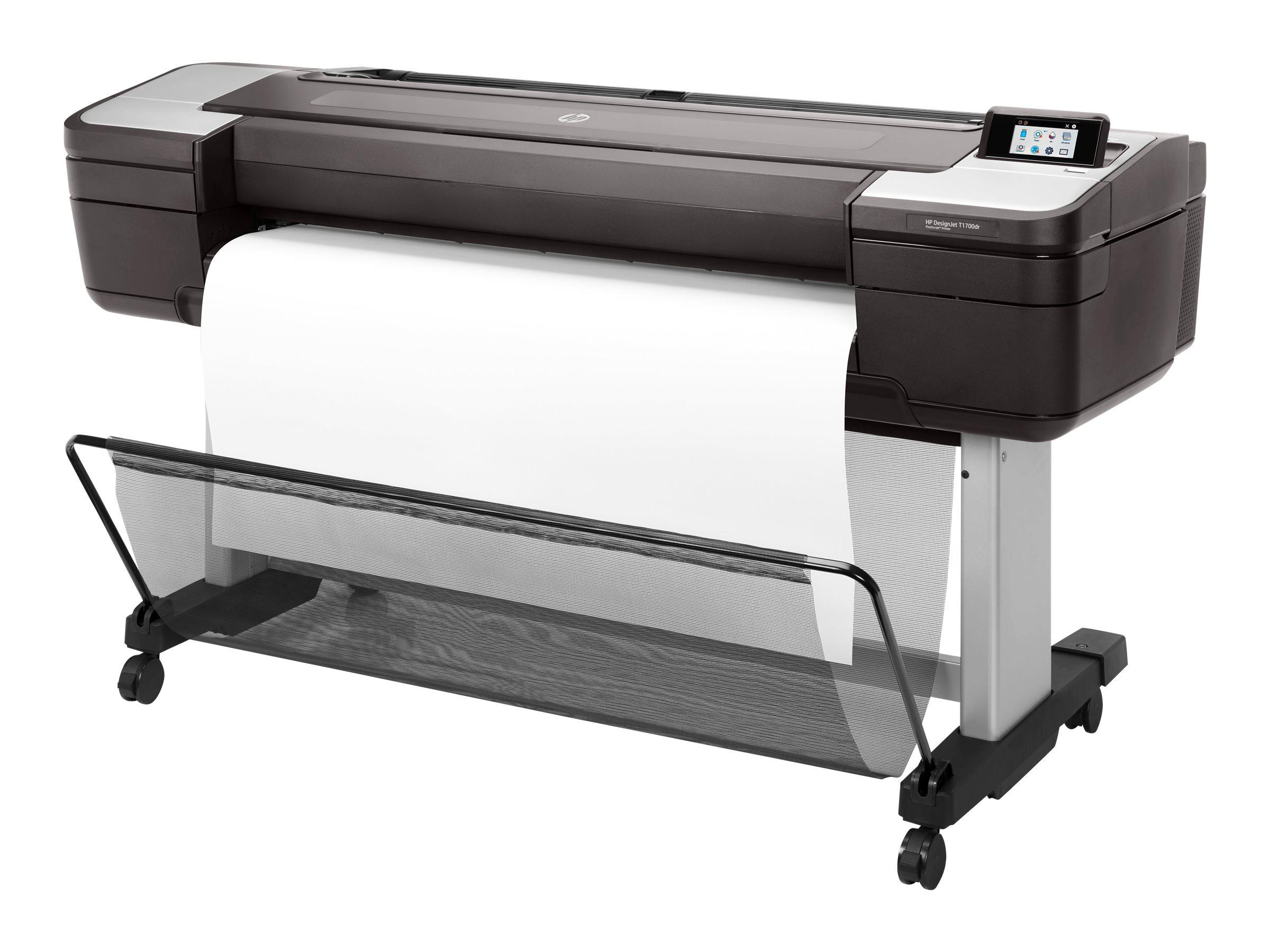 "HP DesignJet T1700dr - 1118 mm (44"") Großformatdrucker"