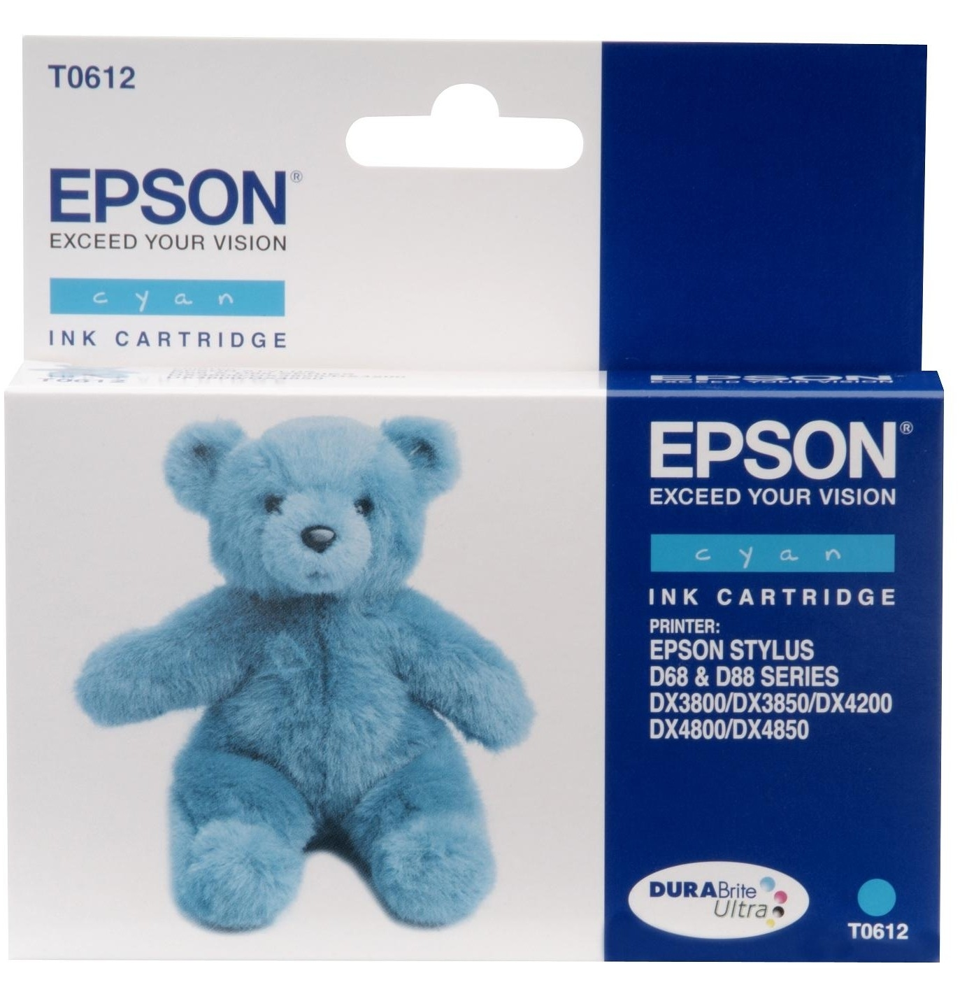 Epson T0612 - Druckerpatrone - 1 x pigmentiertes Zyan