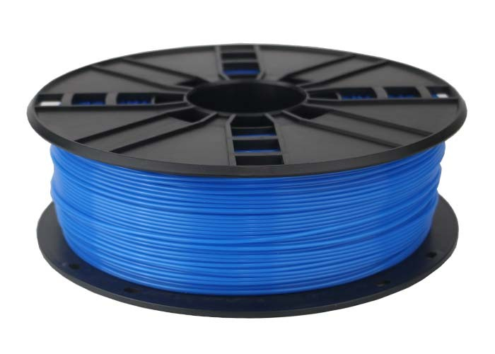 Gembird 3DP-PLA1.75-01-FB - Polyacticsäure (PLA) - Fluorescent blue - 5 kJ/m² - 45 MPa - 200 °C - 1 kg