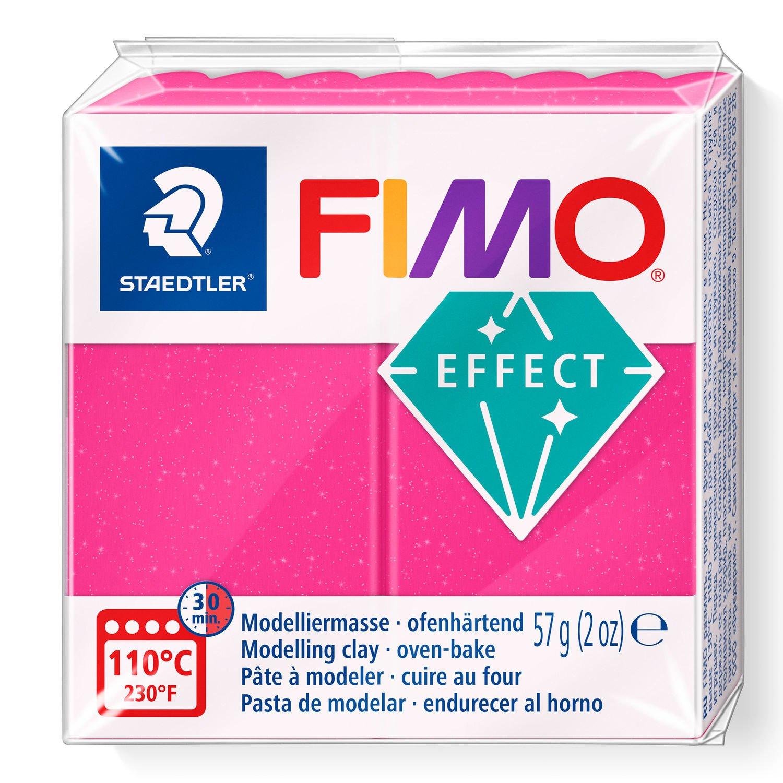 Vorschau: STAEDTLER FIMO 8020 - Knetmasse - Pink - Erwachsene - 1 Stück(e) - Gemstone ruby quartz - 1 Farben
