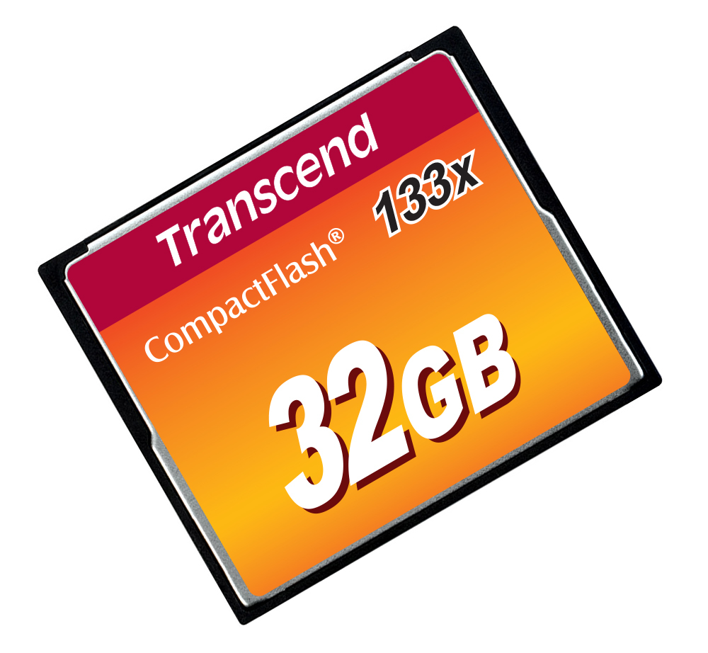 Transcend-Flash-memory-card-32-GB-133x-CompactFlash-TS32GCF133 miniatura 3