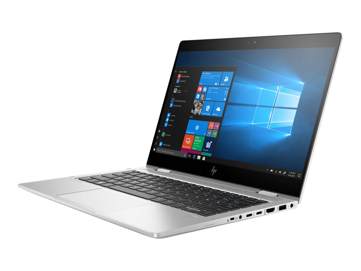 "HP EliteBook x360 830 G6 - Flip-Design - Core i5 8265U / 1.6 GHz - Win 10 Pro 64-Bit - 8 GB RAM - 256 GB SSD NVMe, HP Value - 33.8 cm (13.3"")"