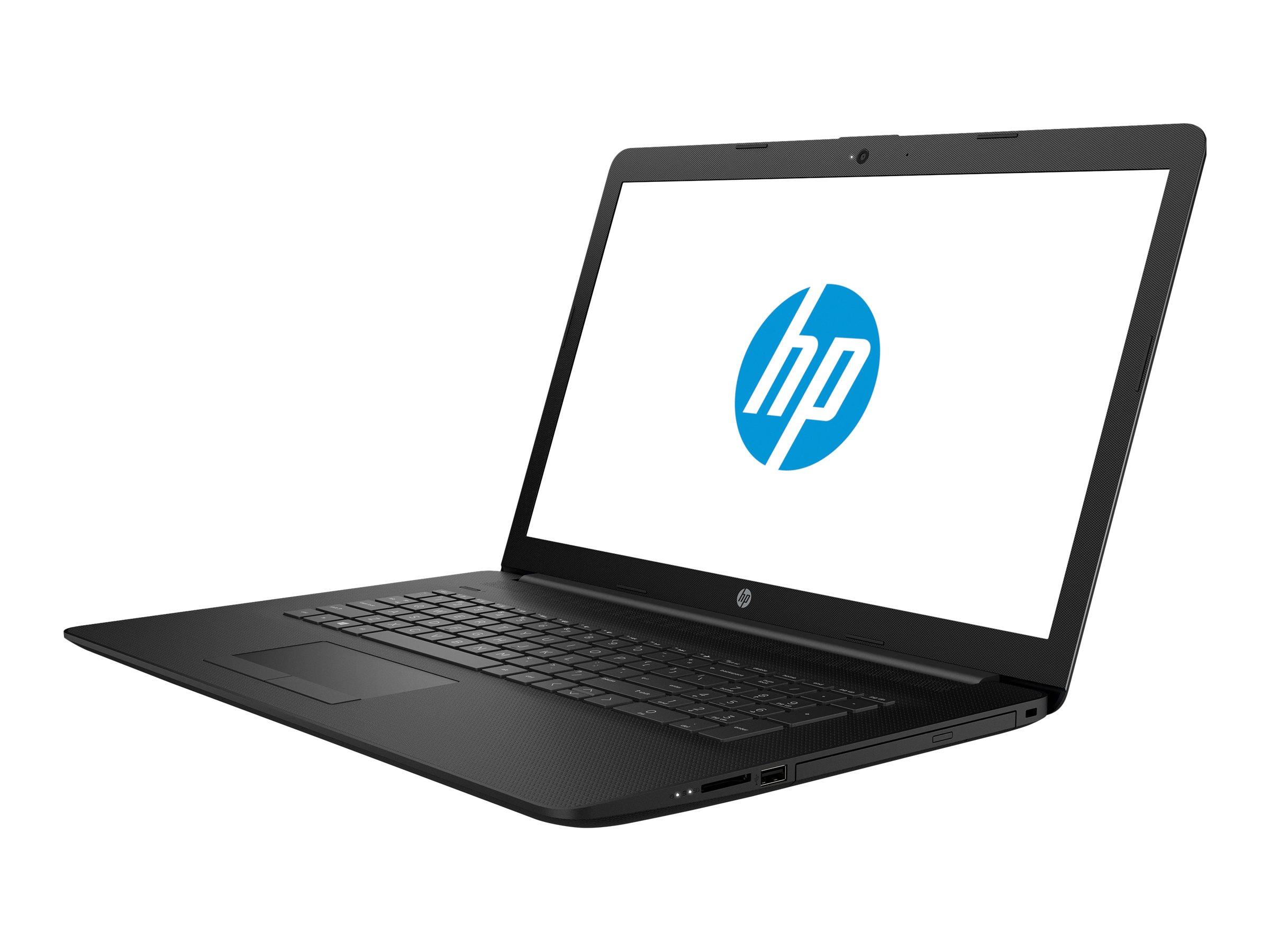 HP 17-by0104ng Schwarz Notebook 43,9 cm (17.3 Zoll) 1600 x 900 Pixel 1,10 GHz Intel? Celeron? N4000