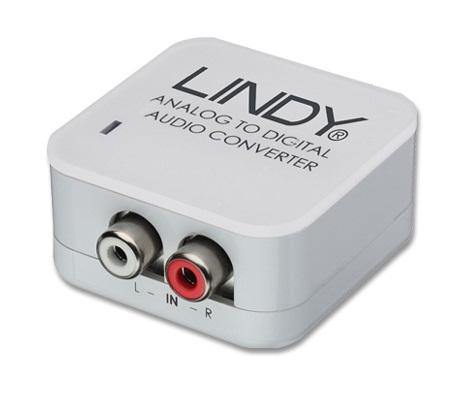 Lindy Audiokonverter Analog -> SPDIF Digital - Kabel