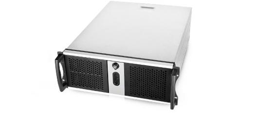 Chenbro RM42300-F2 4U Schwarz - Grau Netzwerkchassis