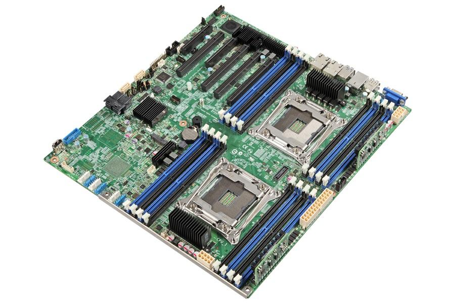 Intel DBS2600CWTSR Intel C612 LGA 2011 (Socket R) SSI EEB Server-/Workstation-Motherboard