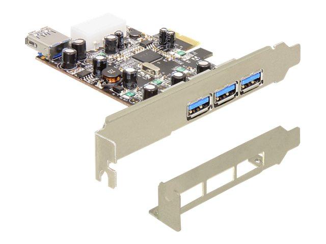 Delock PCI Express Card   3 x extern + 1 x intern USB 3.0